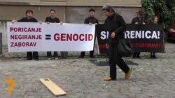 11 05 2015 Перформанс во Белград, протест во Киев