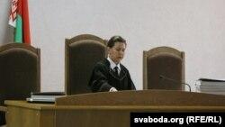 Судзьдзя Сьвятлана Бандарэнка. Суд над Уладзімерам Кондрусем