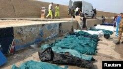 هفته گذشته یکی کشتی حامل پناهجویان آفریقایی نزدیکی جزیره لامپهدوسا غرق شد که ۳۰۹ کشته بر جای گذاشت