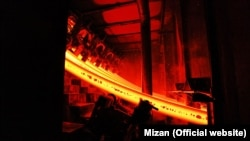 File photo: Isfahan Industry Rail factory