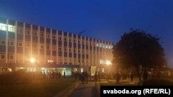 Belarus: grevă la combinatul Grodno Azot, Goradnia, 27 octombrie 2020.
