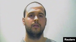 "Both men are accused of providing false documents to Khalid el-Bakraoui (pictured), which he then ""used in preparation of the Paris attacks."""