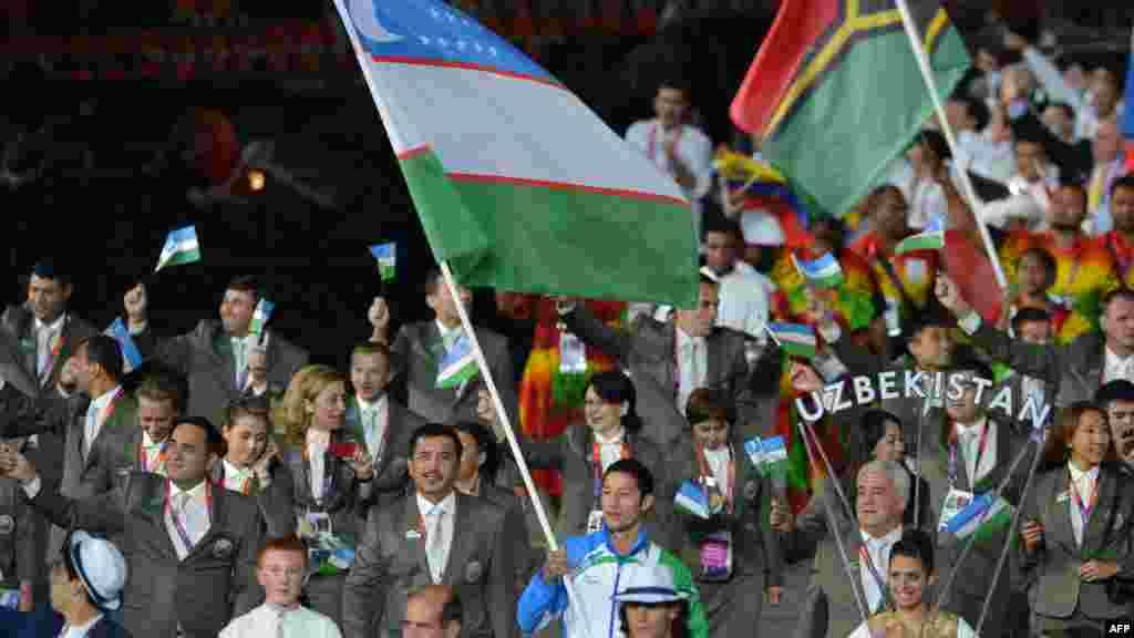 Олимпийская сборная Узбекистана