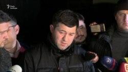 Насіров після звільнення: «Дякую родині, що знайшли шалену суму» (відео)