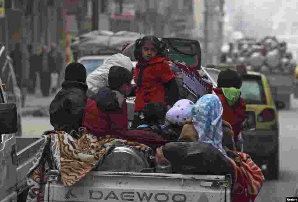 Aleppo, 2. januar 2013. Foto: REUTERS / Muzaffar Salman