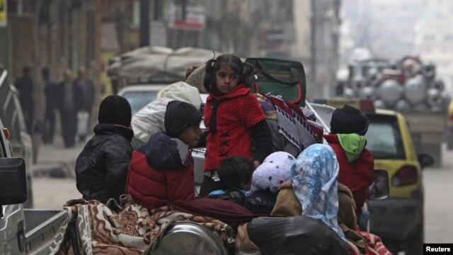 Alepo, 2 januar 2013.