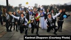 Представители кыргызской диаспоры во Франции.