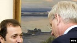Vlad Filat şi Carl Bildt la Chişinău
