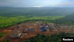 Медное предприятие в Конго, принадлежащее компании ERG