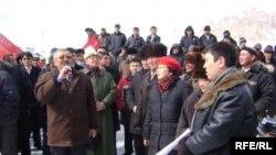 Нарында 10-мартта көп адам катышкан митинг