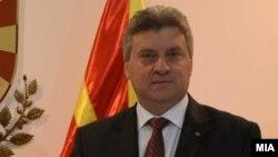 Средба на претседателот Ѓорѓе Иванов со претседателот на Европскиот совет Доналд Туск