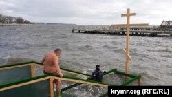 Праздник Крещения в Керчи, 19 января 2020 года