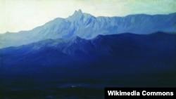 Картина Архипа Куїнджі «Крим. Ай-Петрі»