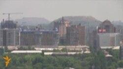In Donetsk, New Landmarks Rise From The Dust