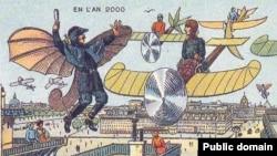 Таким представлял будущее французский художник Жан-Марк Коте в начале ХХ века
