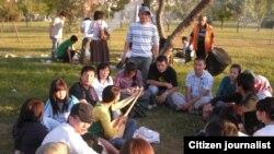 Казахстанские студенты за рубежом. Иллюстративное фото.