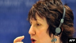 Catherine Ashton answered questions at the European Parliament's Foreign Affairs Committee.