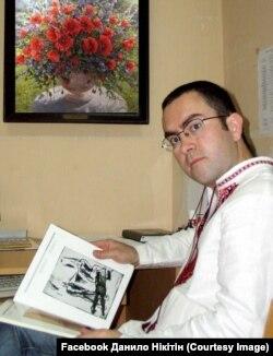 Данило Нікітін, завідувач відділу графіки NAMU