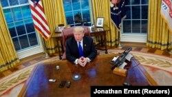 Президент США Дональд Трамп (архивная фотография)