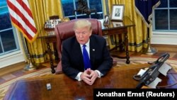 "Donald Trump ""Reuters""ə müsahibə verir"