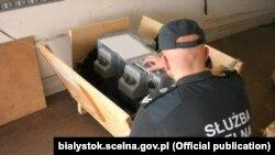 Фота Мытнай палаты ў Беластоку