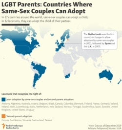 INFOGRAPHIC: Countries Where Same-Sex Couples Can Adopt