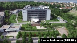 Здание медиакорпорации Радио Свободная Европа/Радио Свобода в Праге