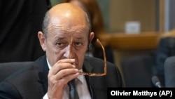 Министр иностранных дел Франции Жан-Ив Ле Дриан (архив)