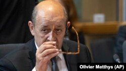 Fransanın xarici işlər naziri Jan-Iv Lö Drian