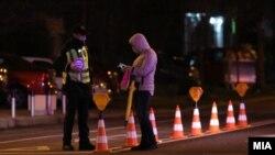 Полициски час како мерка против ширењето на коронавирусот, Скопје март 2021