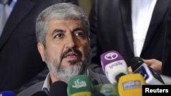 """Лидер палестинского движения """"Хамас"""" Халед Машаль."""