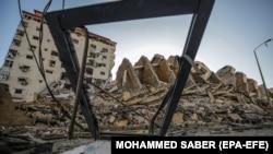 Разрушения в сектора Газа