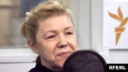 "Yelena Mizulina is a leading sponsor of Russia's recently adopted law banning the ""propaganda"" of homosexuality to minors."