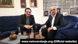 Kryetari i Vetëvendosjes, Albin Kurti dhe ai i LDK-së, Isa Mustafa/