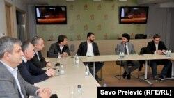 Nema uslova da opozicija preda liste za izbore u Nikšiću, poručili predstavnici opozicije nakon sastanka