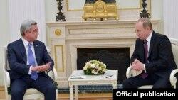 Հայաստանի և Ռուսաստանի նախագահների հանդիպումը Մոսկվայում, արխիվ