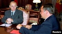 Վլադիմիր Պուտինը և Միխայիլ Լեսինը, արխիվ, 2000թ.