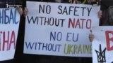Во Украина протести за средбата меѓу Зеленски и Путин
