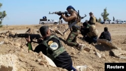 مقاتلون من عشائر الأنبار