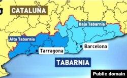Карта Табарнии