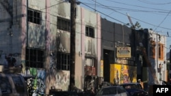 Objekti i dëmtuar nga zjarri në Oakland