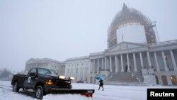 ԱՄՆ - Ձյուն Վաշինգտոնում, հունվար, 2015թ․