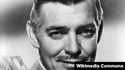 Amerika aktyoru Clark Gable.