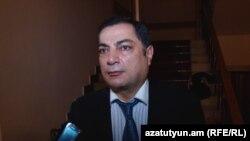 Глава парламентской фракции правящей Республиканской партии Армении Ваграм Багдасарян (архив)