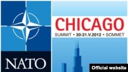 Официјалното лого на Самитот на НАТО во Чикаго.