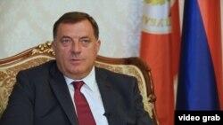 Milorad Dodik, the president of Republika Srpska