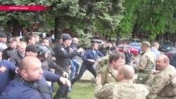 Столкновения и драки в Днепре на 9 мая