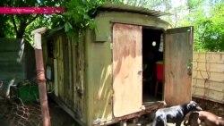Тбилиси: беженка из Абхазии вынуждена 4 года жить в контейнере