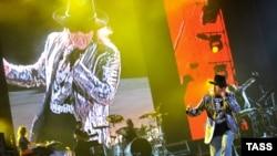 Guns n' Roses в Москве, июнь, 2010