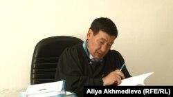 Жасамурат Сагымбеков, судья Талдыкорганского городского суда.
